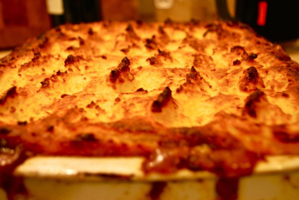 Shepherd's Pie - låg af kartoffelmos
