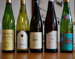 Riesling, Alsace, Domäne Wachau, Georg Breuer, Leon Beyer, hvidvin