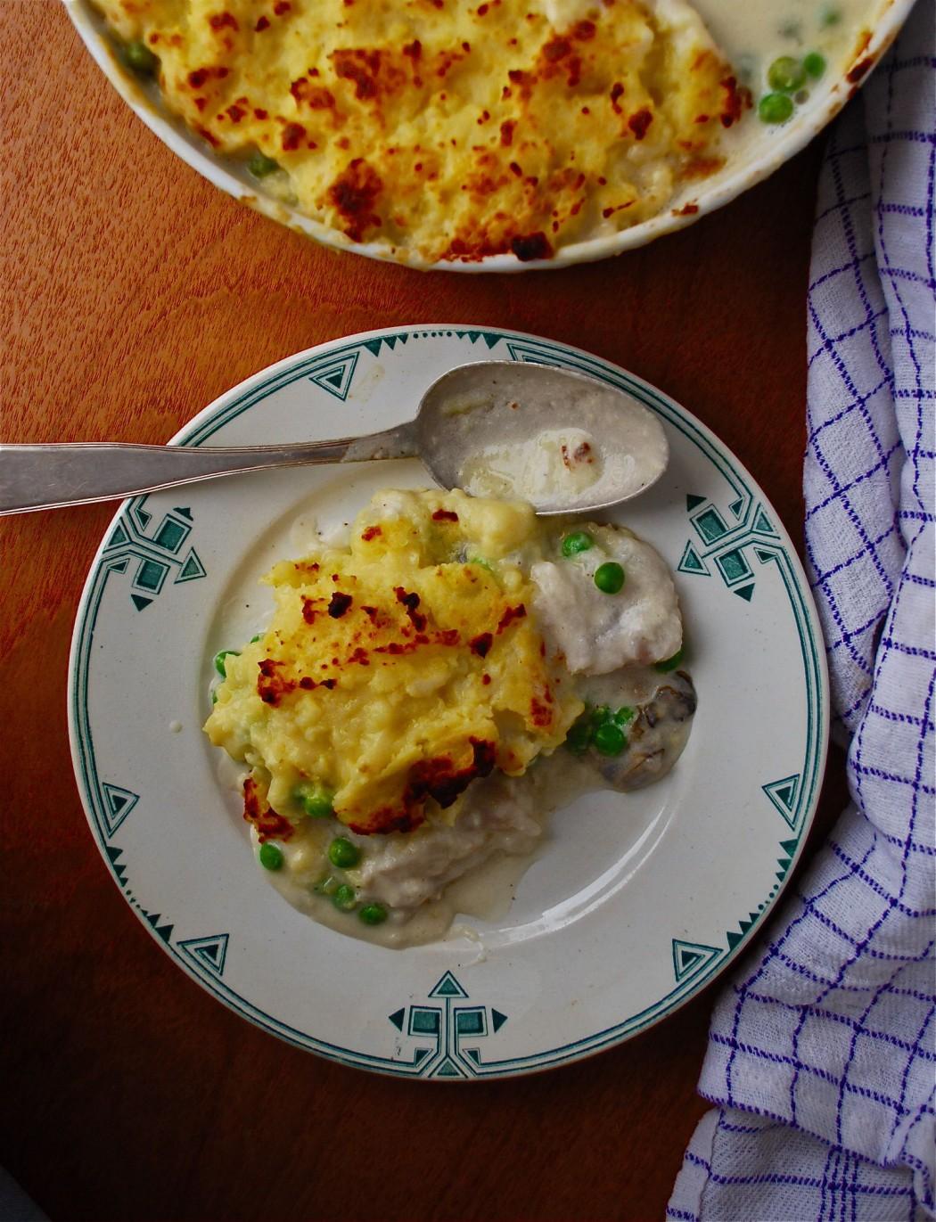 Fish Pie med torsk og østers