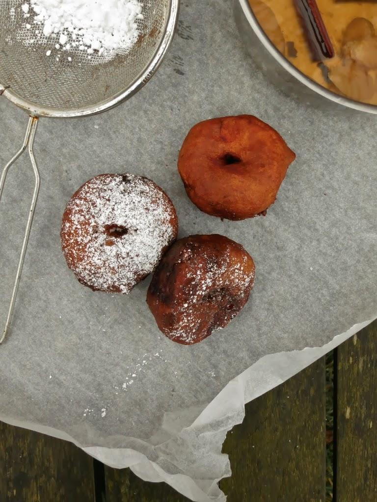 Æbleskive-doughnut