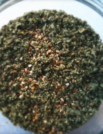 Za'atar – en mellemøstlig krydderiblanding