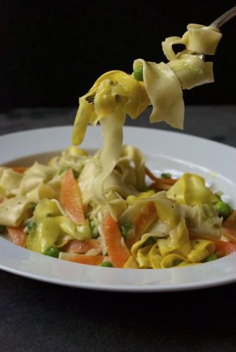 Pasta primavera – en vegetarisk pastaret