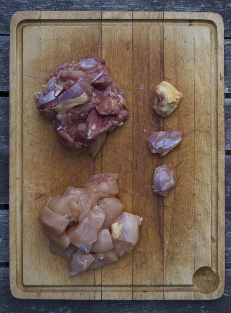 Prøv denne opskrift på rigtige satay med kylling.