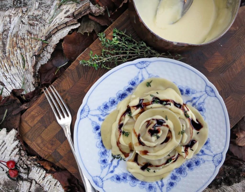 Opskrift på hjemmelavede ravioli med fasan