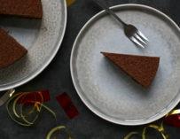 Chokoladetrøffelkage med en overraskelse – Nytårsmenu del 3
